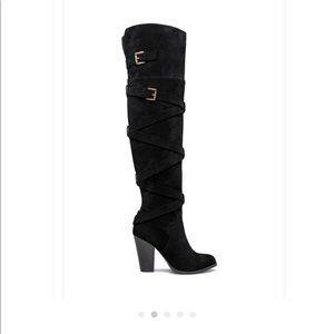 Shoe Dazzle Heeled Boot